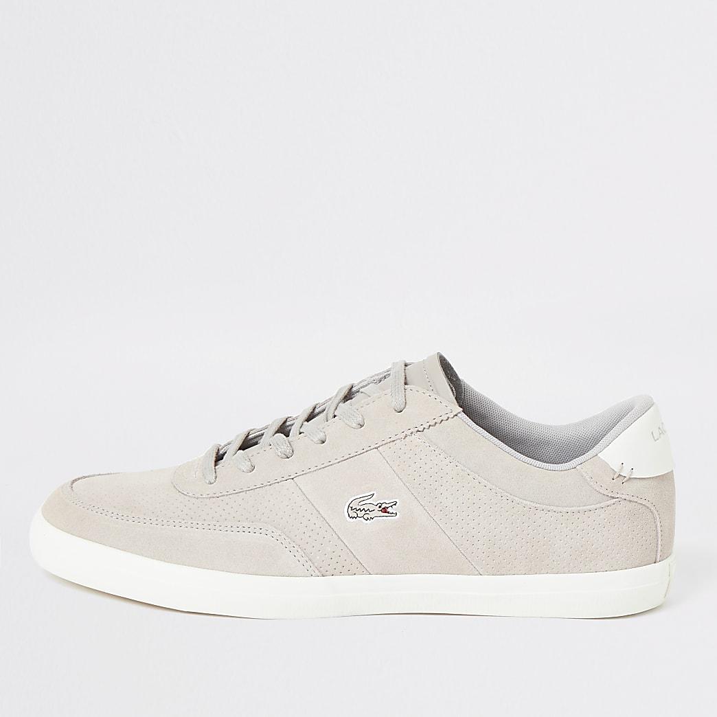 Lacoste – Baskets Courtmaster grises