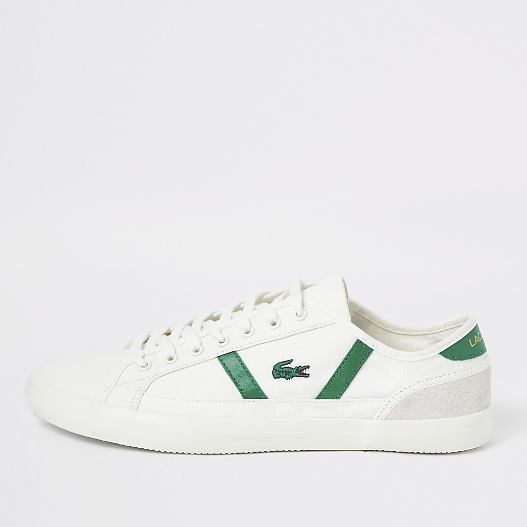 Lacoste – Sideline – Baskets en toile blanches