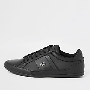 Lacoste black Chayman trainers