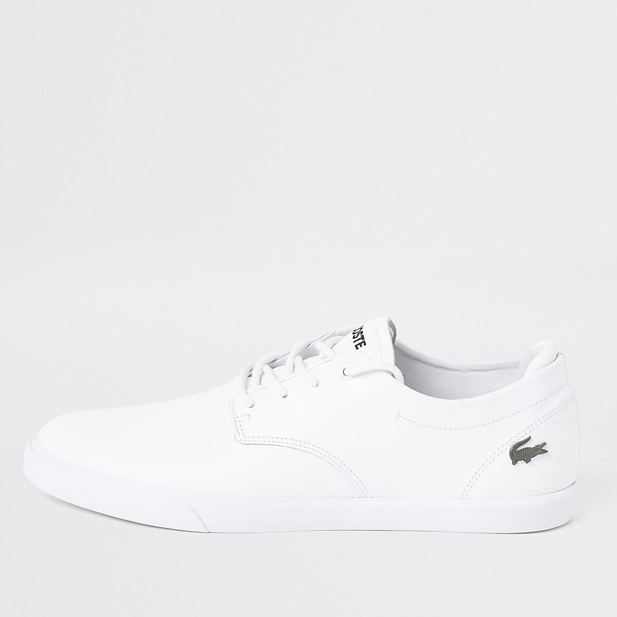 Lacoste white Esparre sneakers