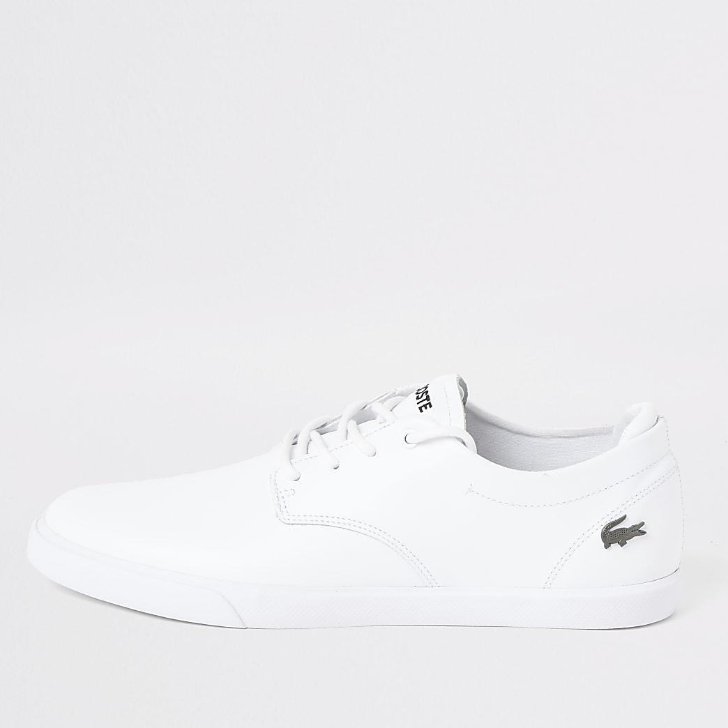 Lacoste – Esparre – Weiße Sneaker