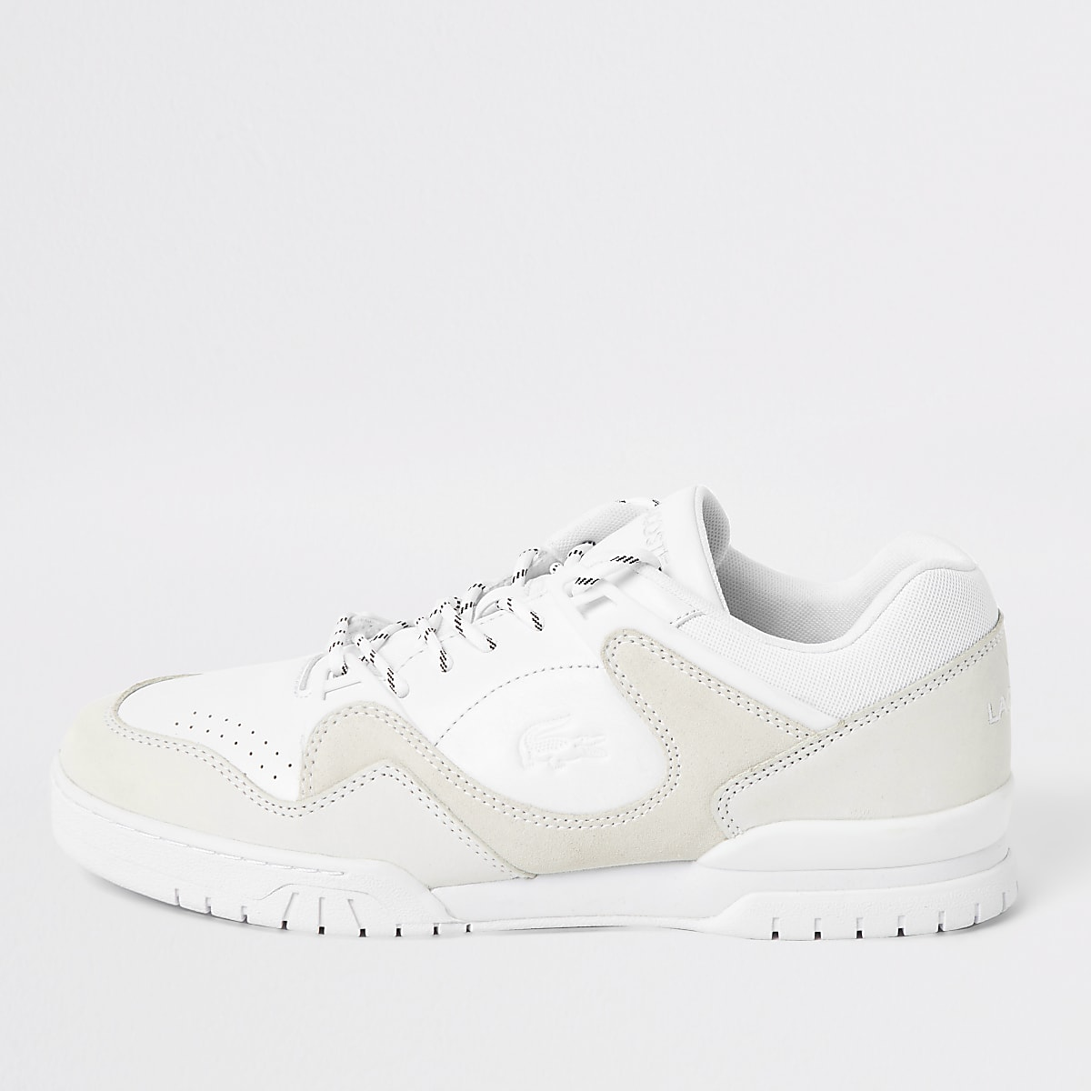 Lacoste white Court Point G Sma trainers