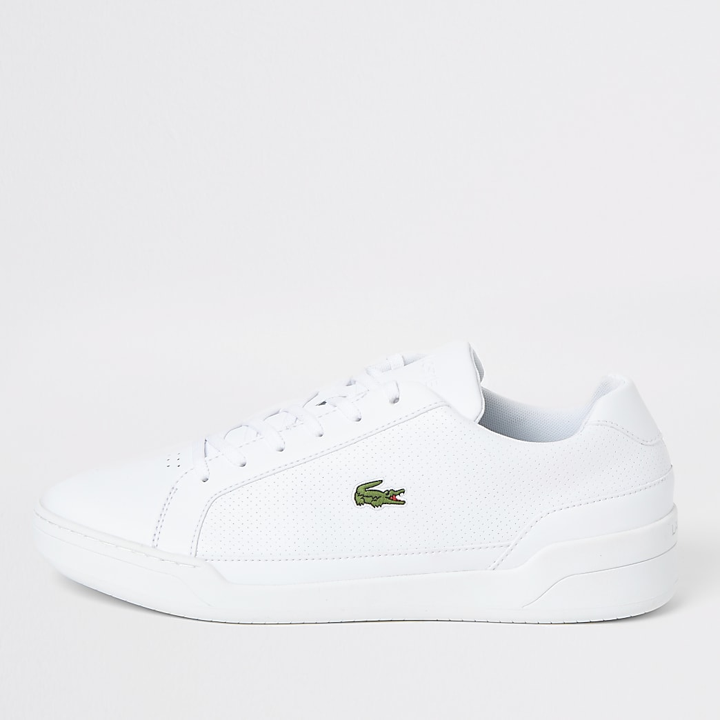 Lacoste white Challenge trainers