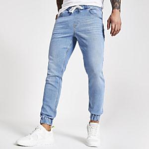 Ryan – Jean bleu clair style pantalon de jogging