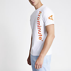 Arcminute white logo T-shirt