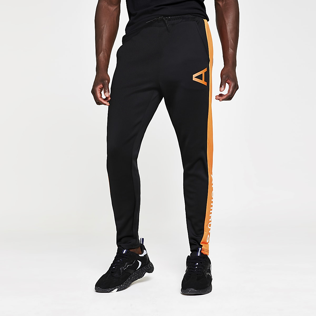 Arcminute black joggers
