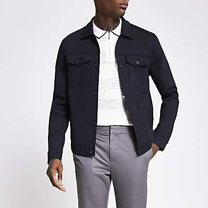 The Navy Western Jacket
