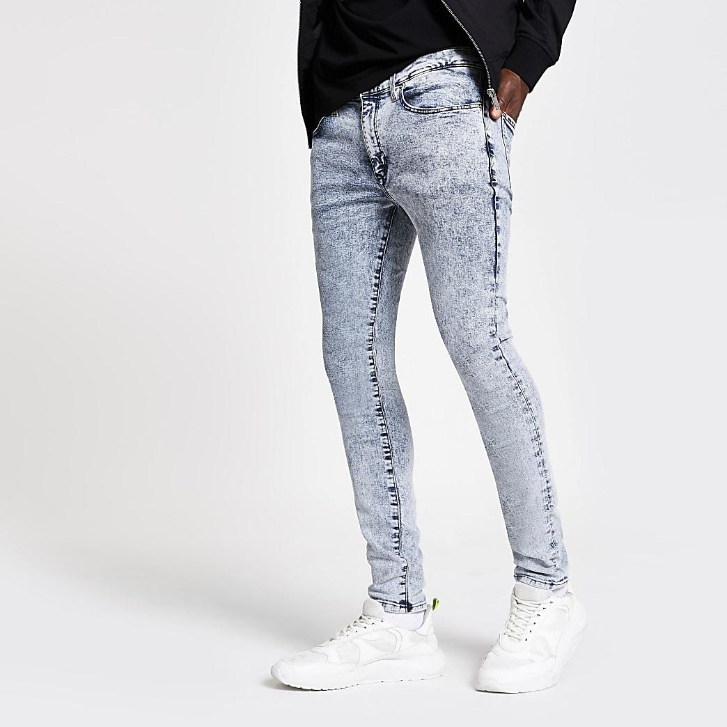 Danny – Jean super skinny bleu clair