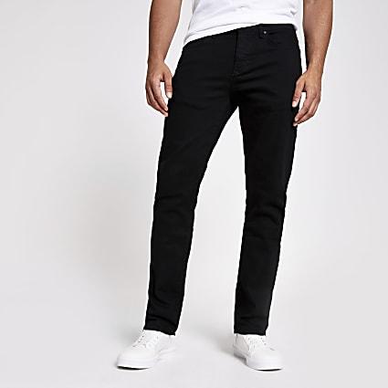Black Clint bootcut jeans