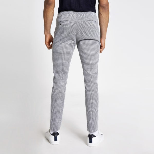 River Island - elegante skinny fit jogginghose - 4