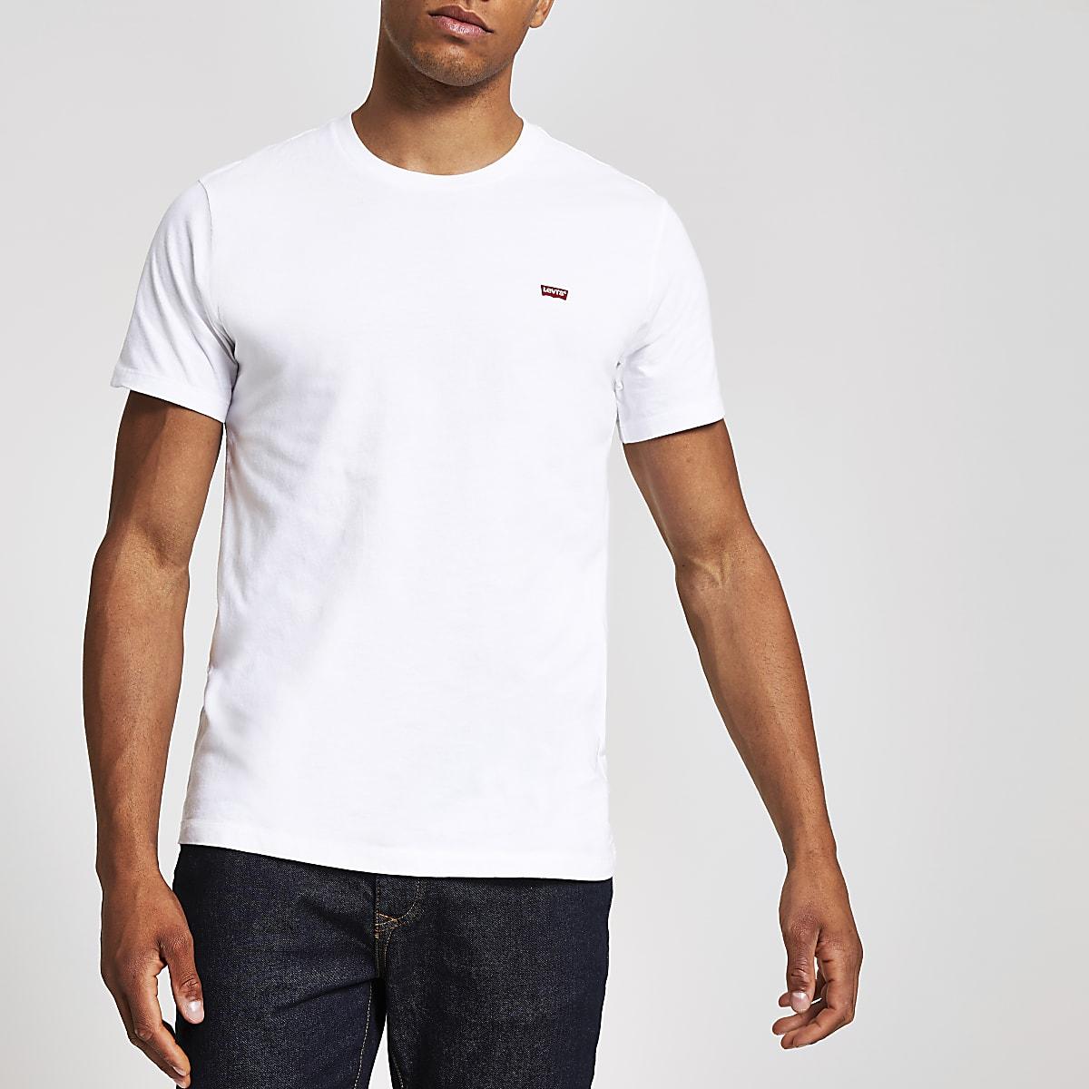 Levi's Original - Wit T-shirt