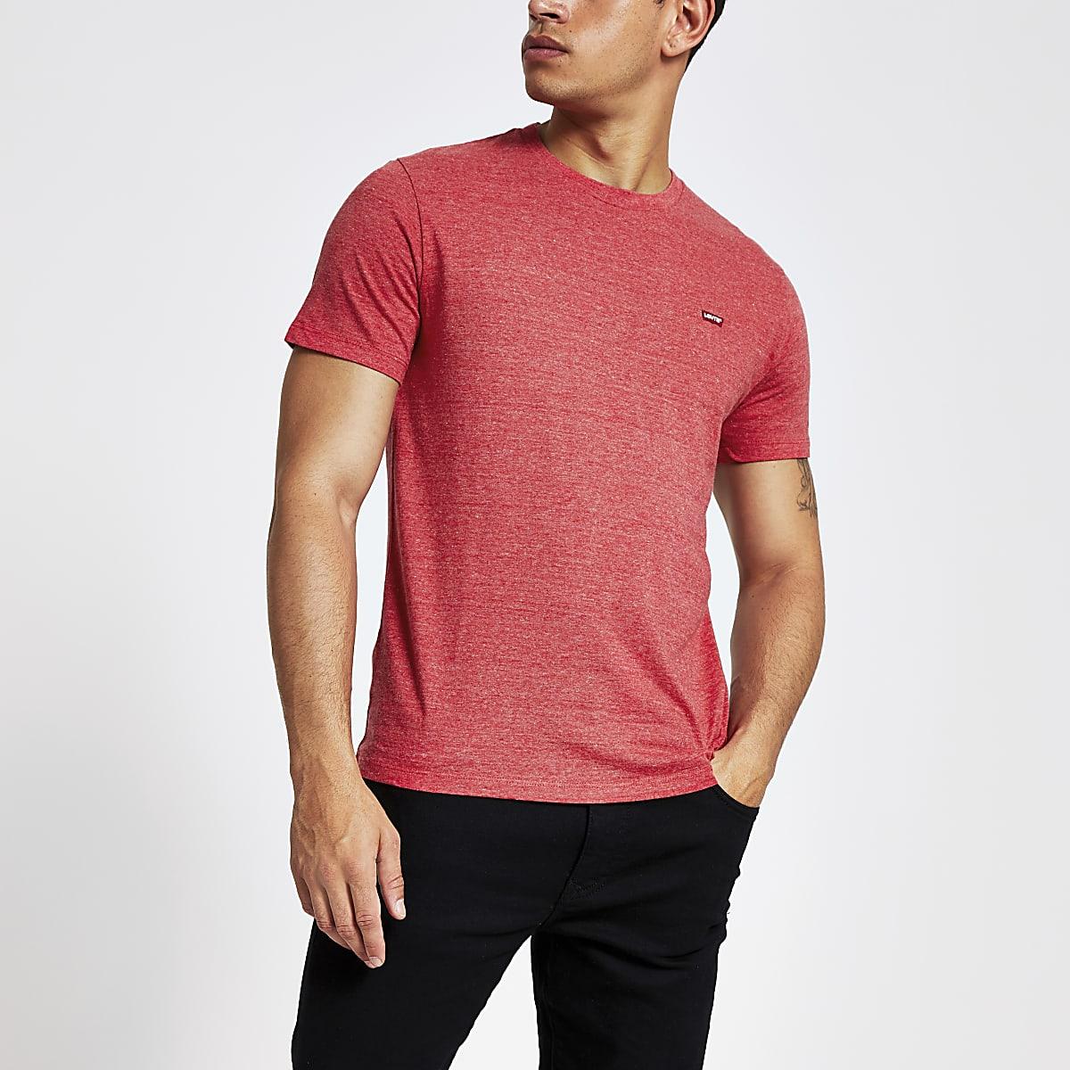 Levi's Original - Rood T-shirt