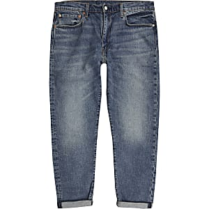 Levi's slim fit roll hem jeans