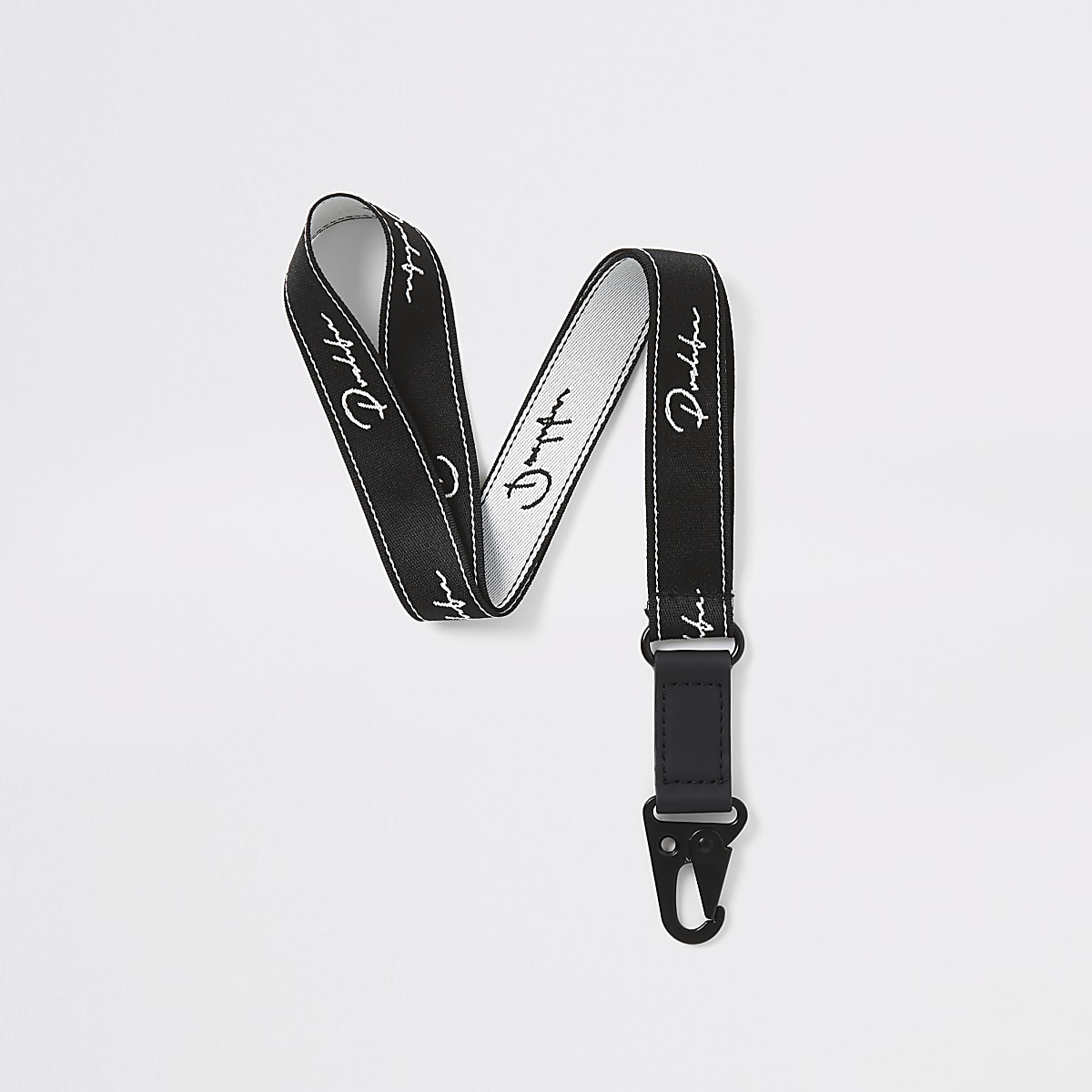Black 'Prolific' lanyard