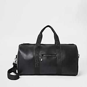Prolific – Schwarze Reisetasche mit Gurt
