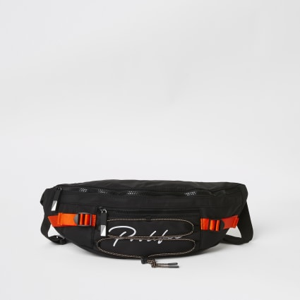 Black Prolific zip top hiking bumbag