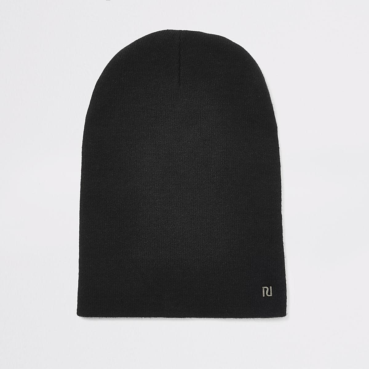 Bonnet large RI noir