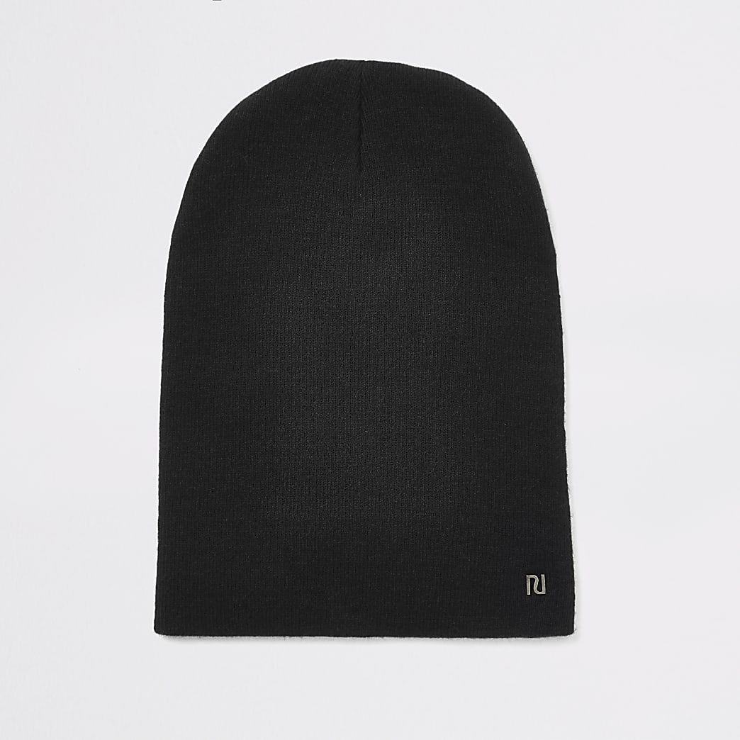 Bonnet large RI noir