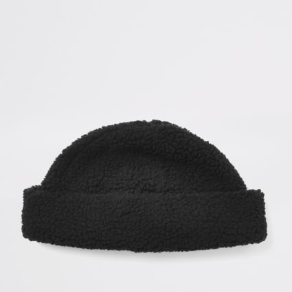 Black borg docker hat