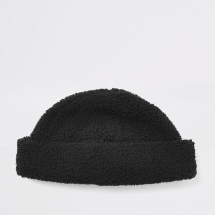 Black borg docker hat