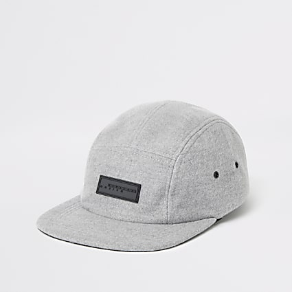 Grey Maison Riviera 5 panel cap