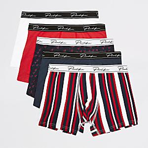 Lot de 5 boxers « Prolific » imprimés multicolores