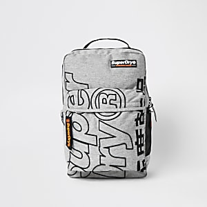 Superdry grey Academic backpack