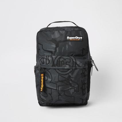 Superdry khaki camo Academic backpack