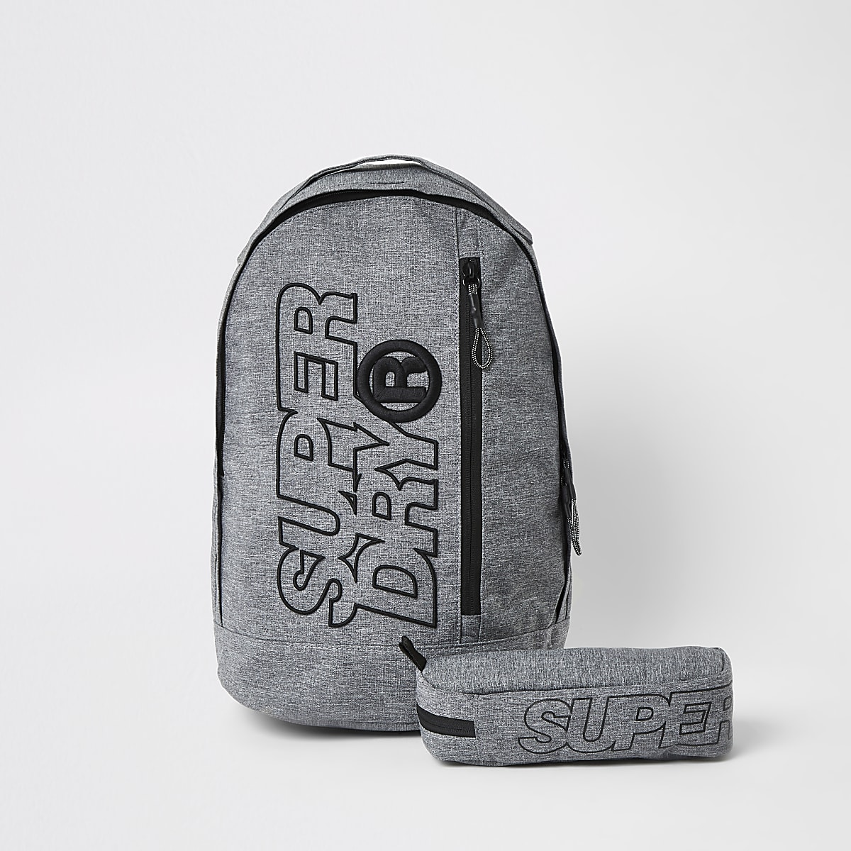 Superdry grey Freshman backpack