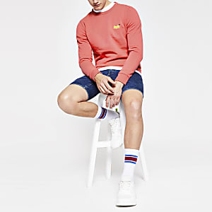 Superdry – Sweatshirt in Orange