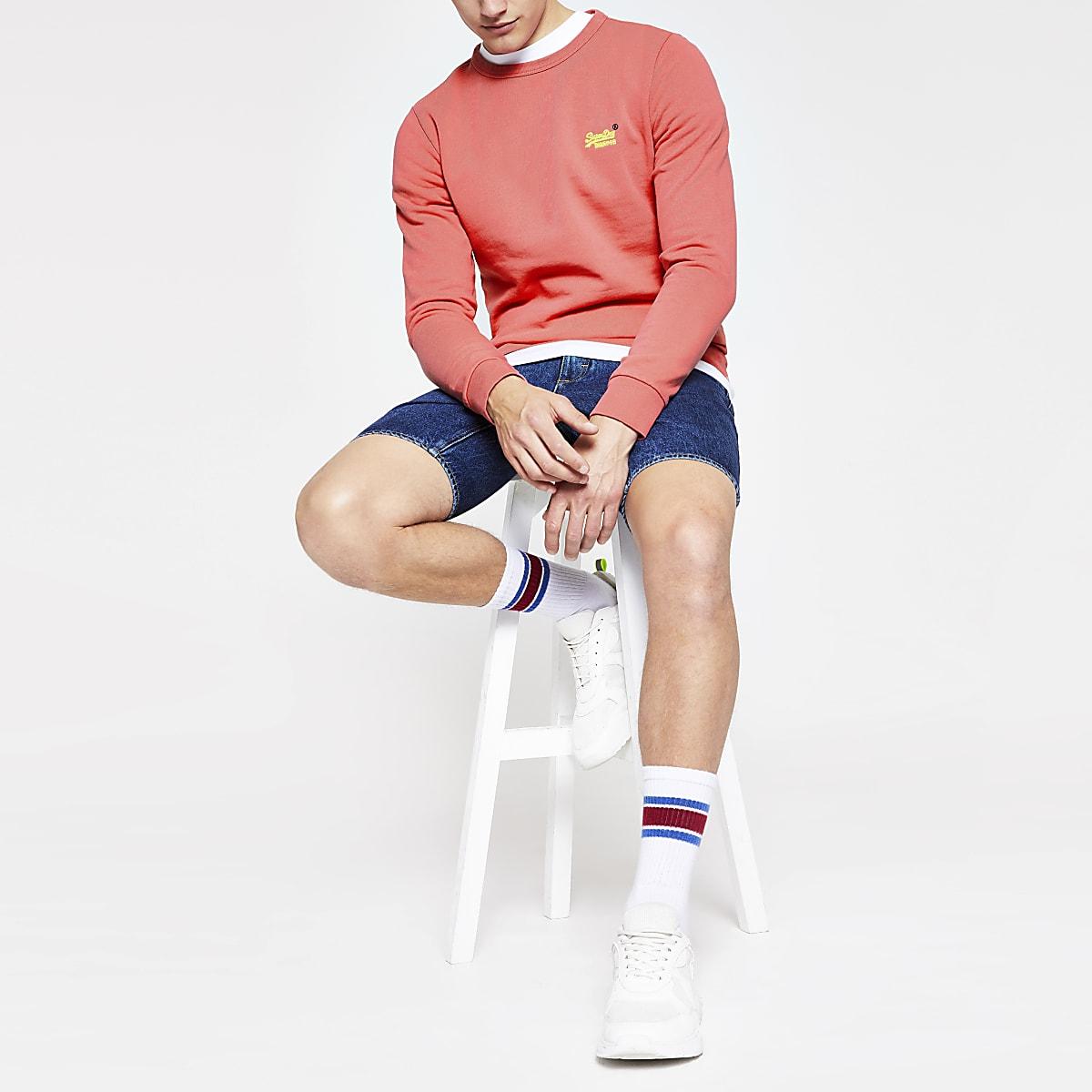 Superdry - Oranje sweatshirt