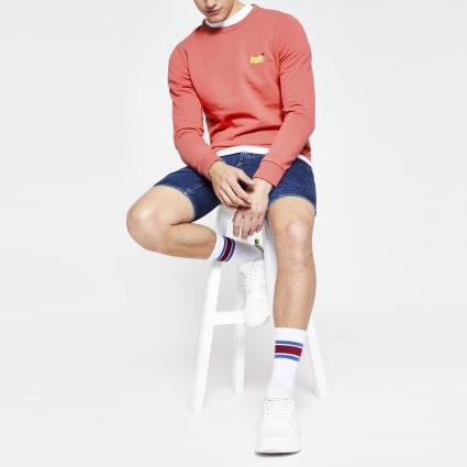 Superdry orange sweatshirt