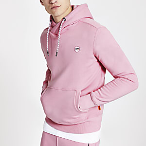 Superdry Collective – Sweat rose à capuche