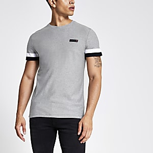 Superdry – International – T-shirt gris