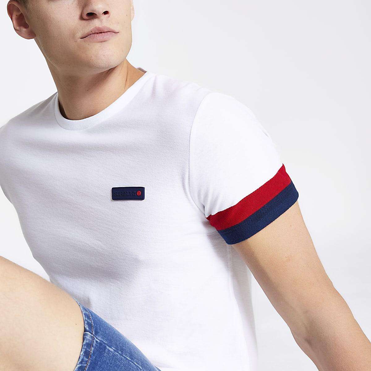 Superdry International white T-shirt