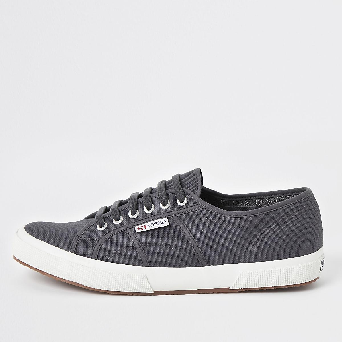 Superga dark grey classic runner sneakers