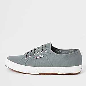 Superga dark green classic runner sneakers