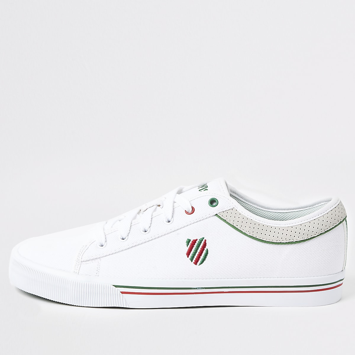K-Swiss – Bridgeport II – Weiße Sneaker