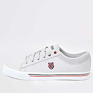 K-Swiss – Baskets Bridgeport II grises