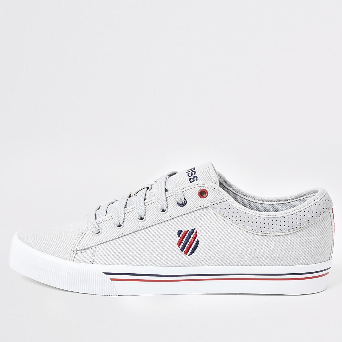 K-Swiss grey Bridgeport II sneakers