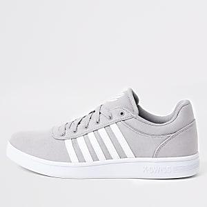 K-Swiss grey Court Cheswick sneakers