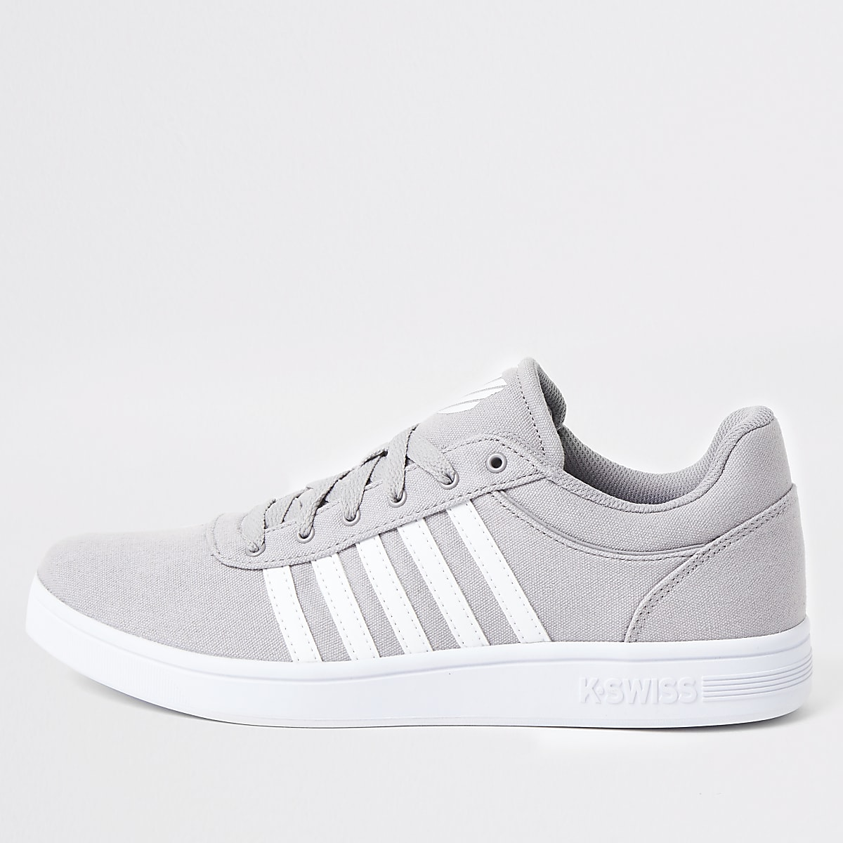 K-Swiss grey Court Cheswick trainers