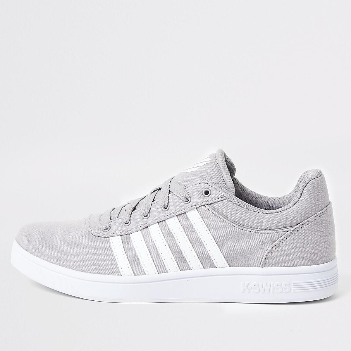 K-Swiss – Court Cheswick – Graue Sneaker