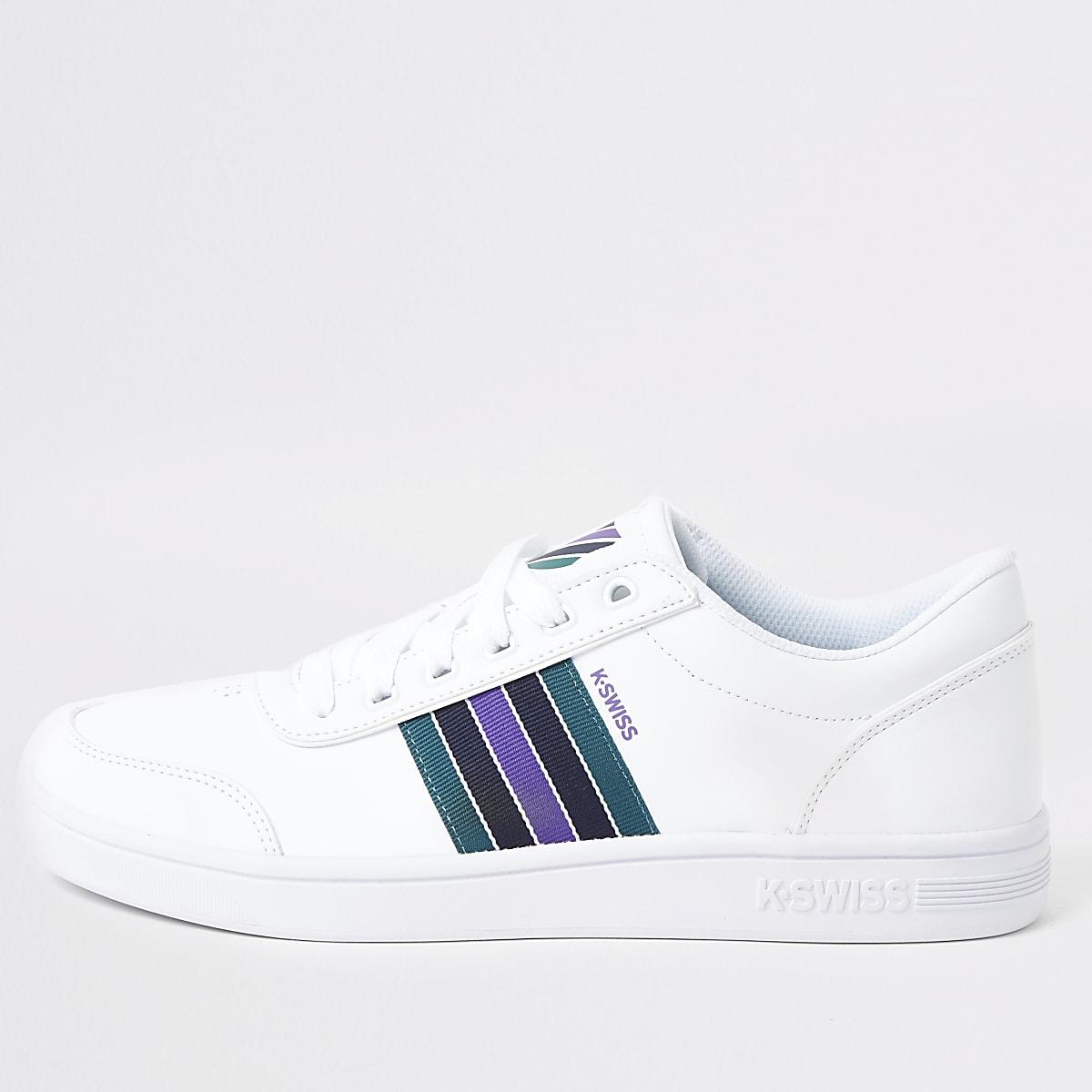K-Swiss - Court Clarkson - Witte sneakers
