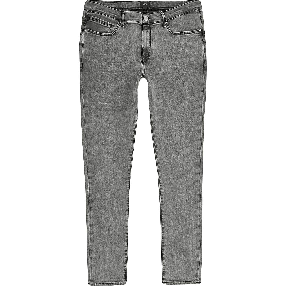 Grey Danny super skinny jeans