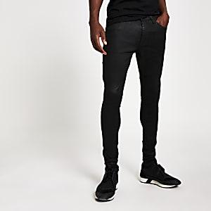 Black Ollie – Spray On Jeans mit Beschichtung