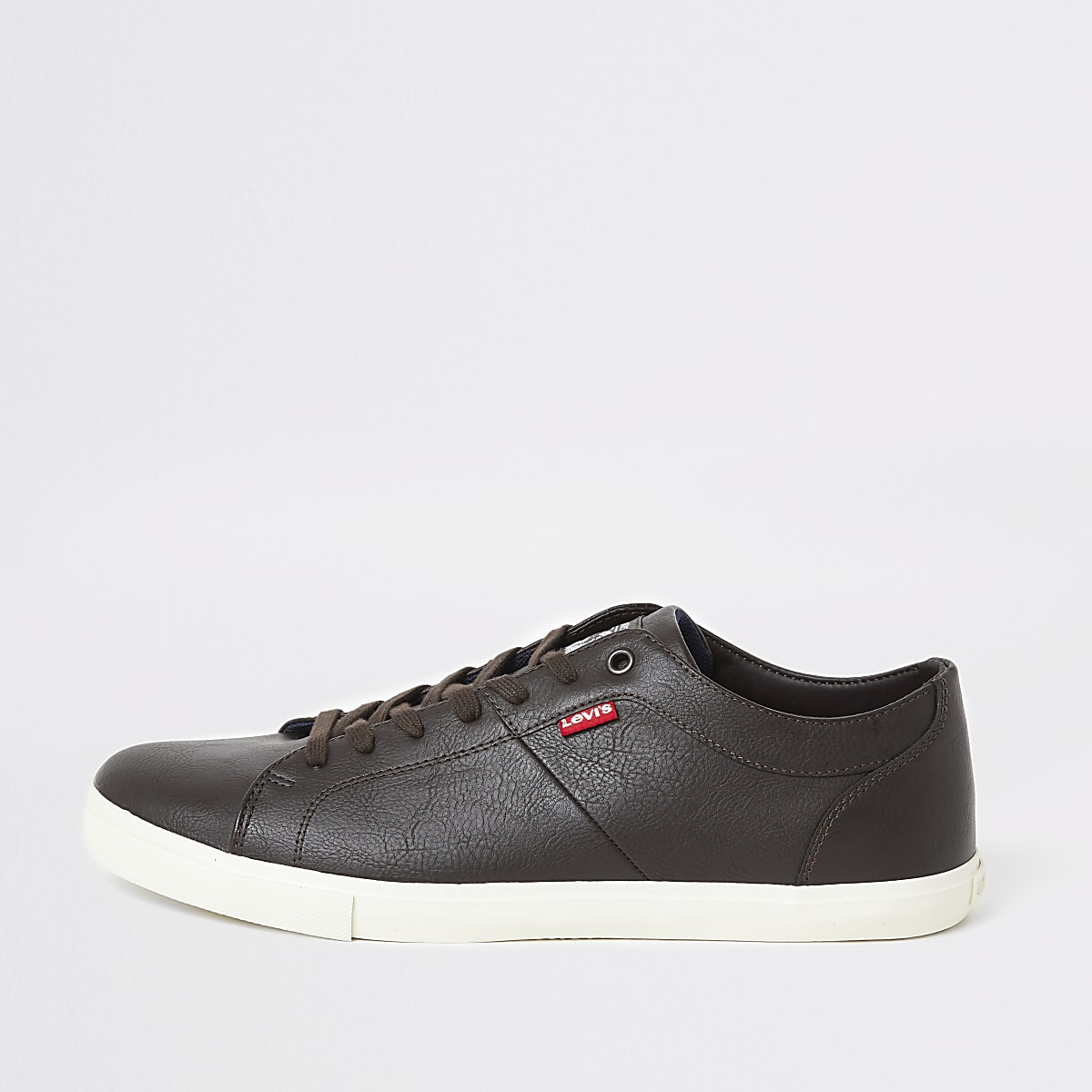 Levi's dark brown Woods trainers