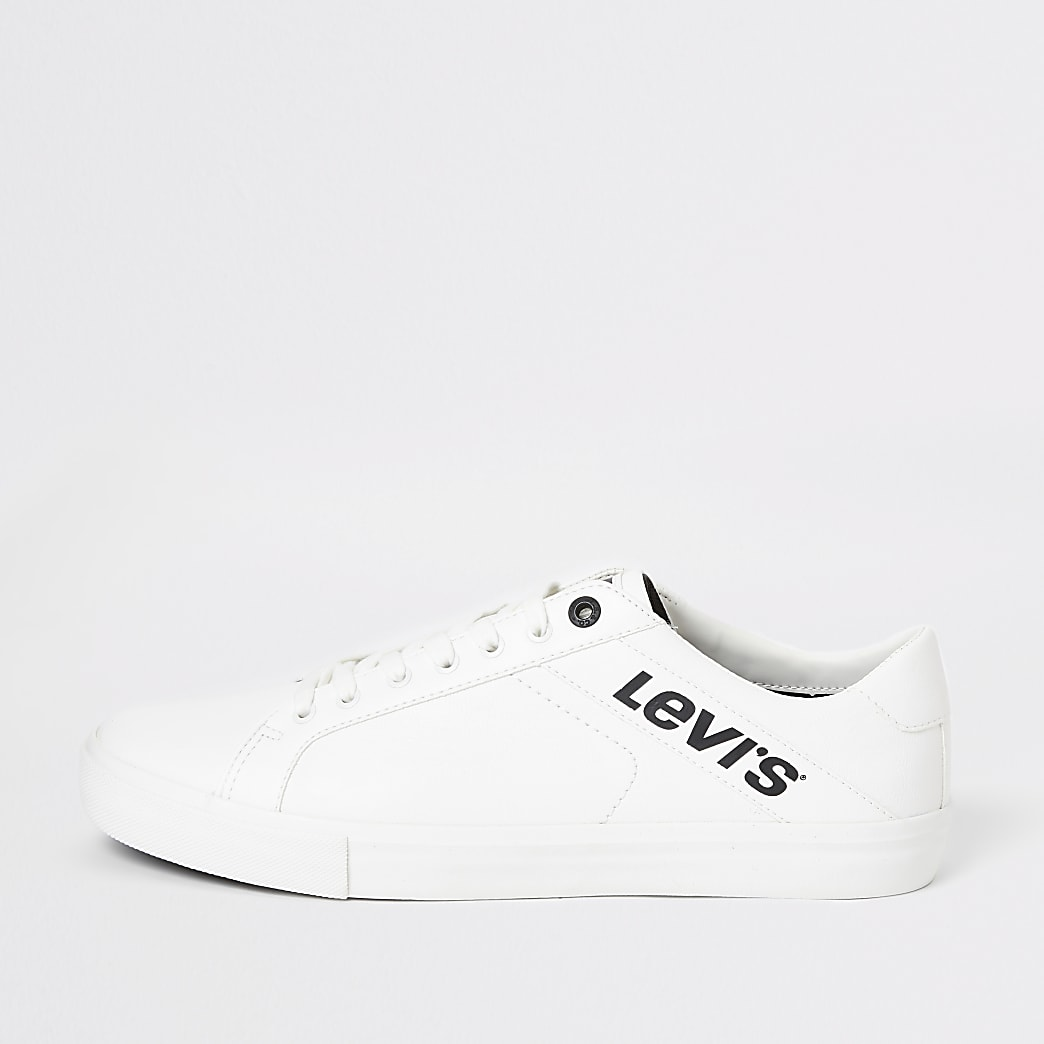 Levi's - Baskets Woodward blanches