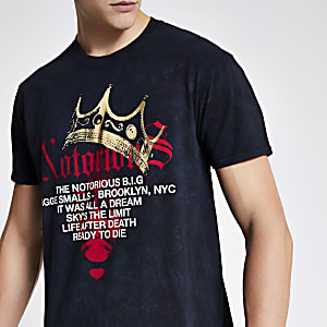 Zwart Biggie Smalls T-shirt