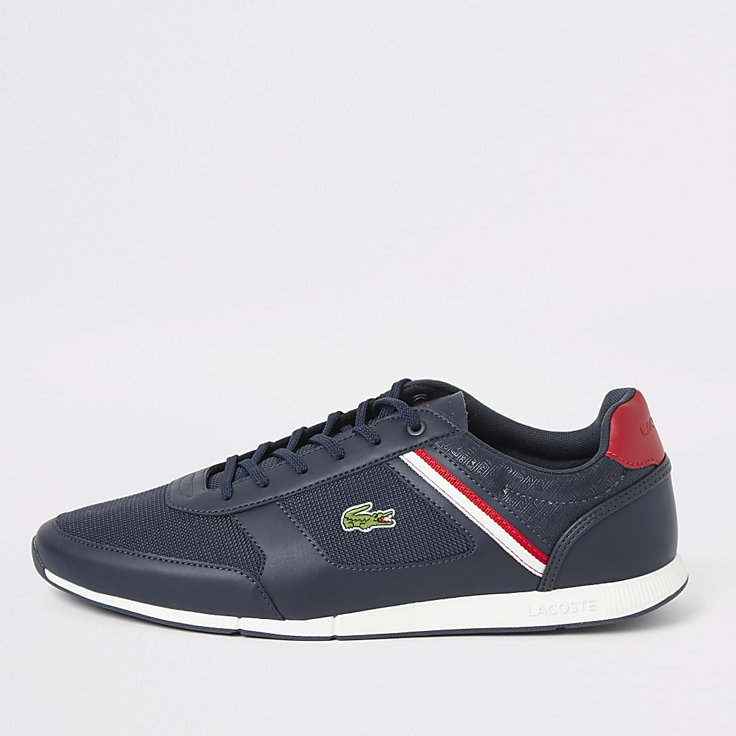Lacoste navy Menerva lace-up trainers